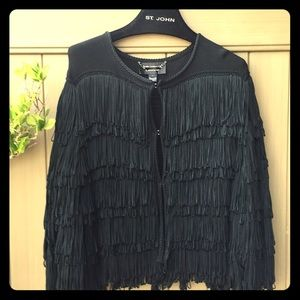 Couture fringe jacket